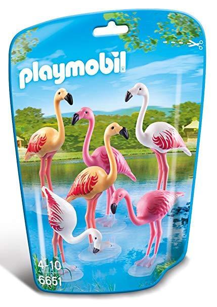 PLAYMOBIL 6651 FLOCK OF FLAMINGOS