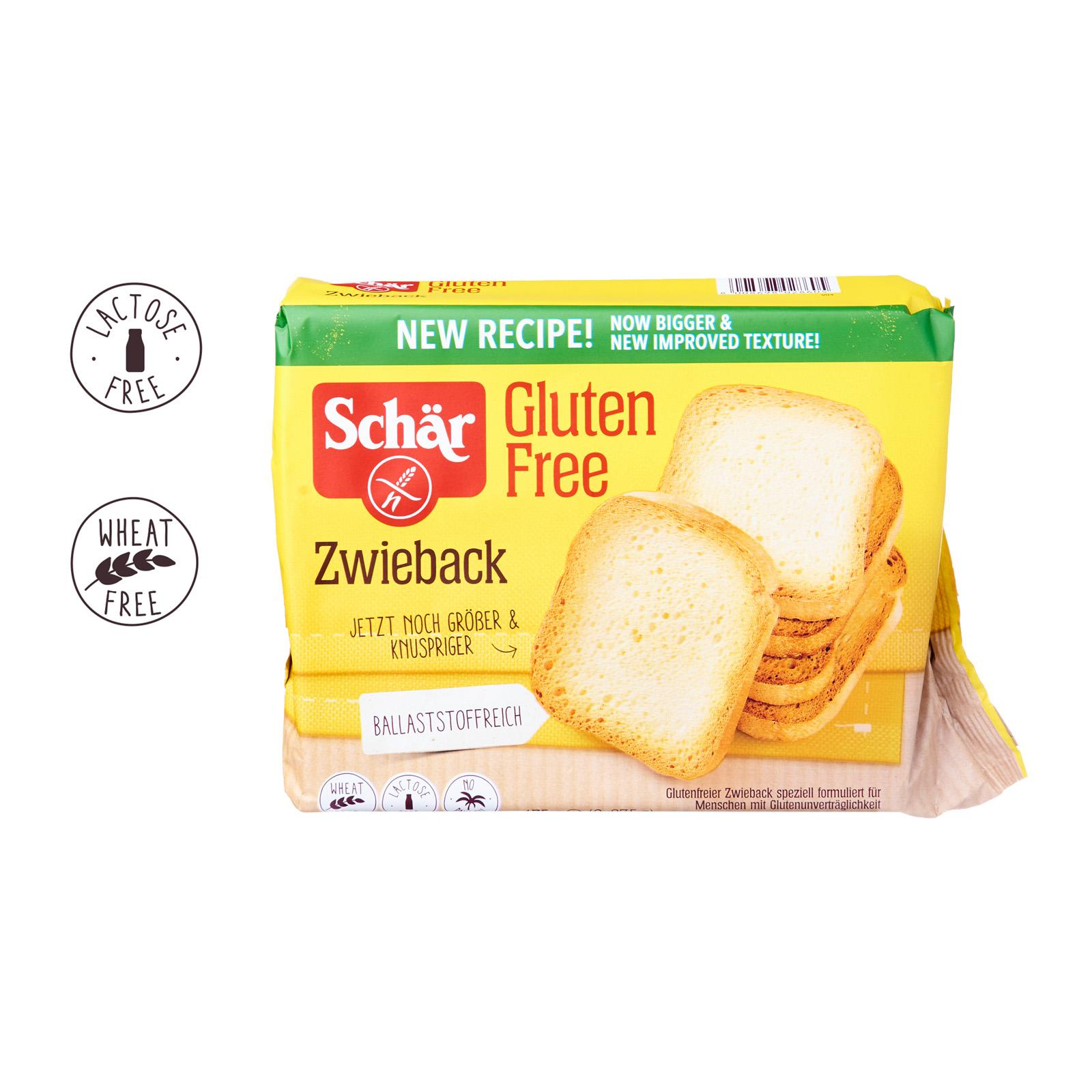 Dr. Schar ZWIEBACK Rusks - Gluten free by Agora Products