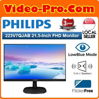Philips 223V7QJAB V-Line 21.5-Inch Full HD Widescreen Monitor
