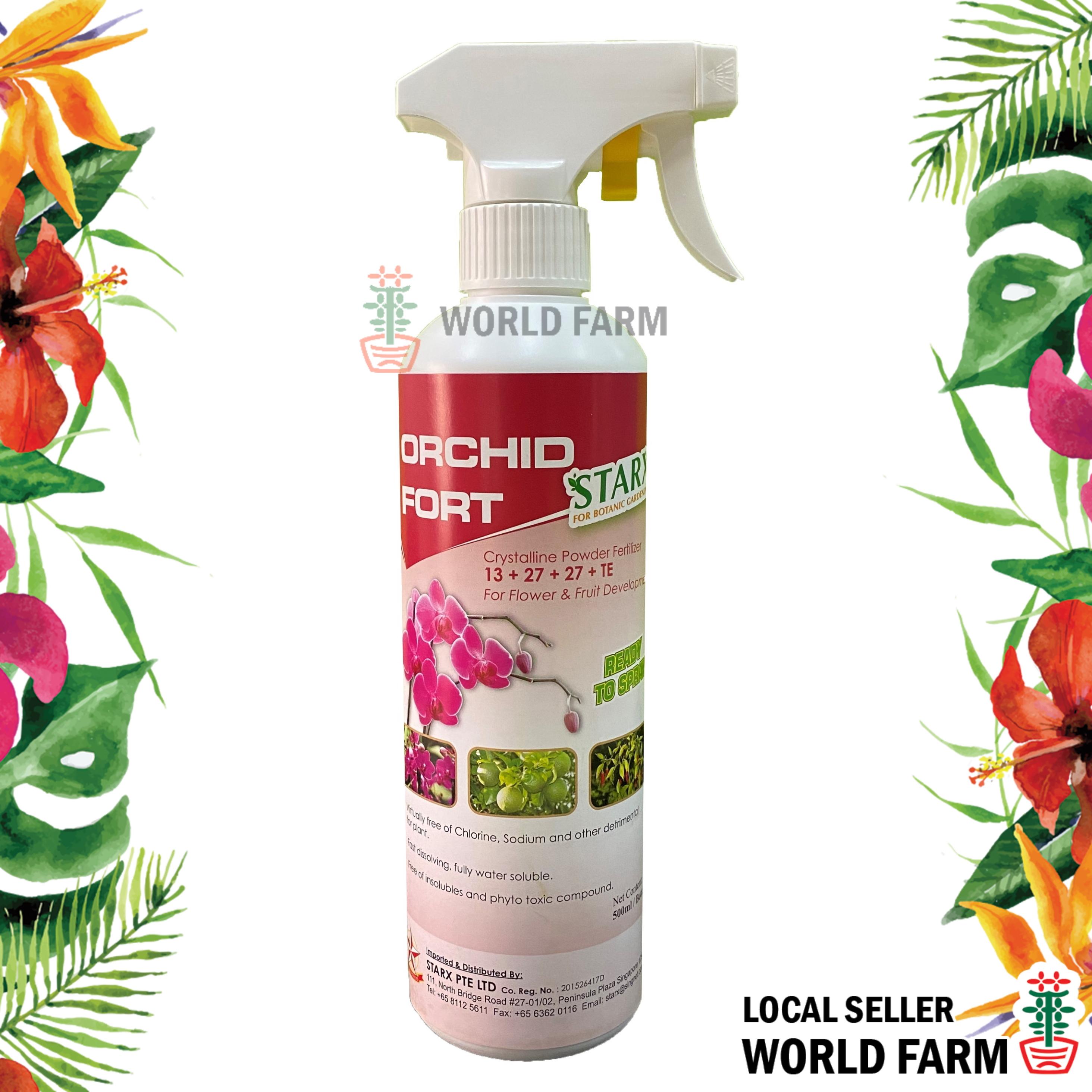Orchid Fort Flowering Orchid Fertiliser / Fertilizer Spray 500ml