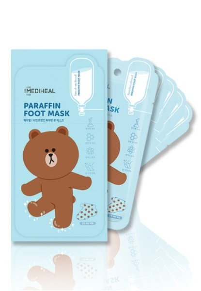Buy [5x] Mediheal LINE FRIENDS Theraffin Foot Mask Singapore