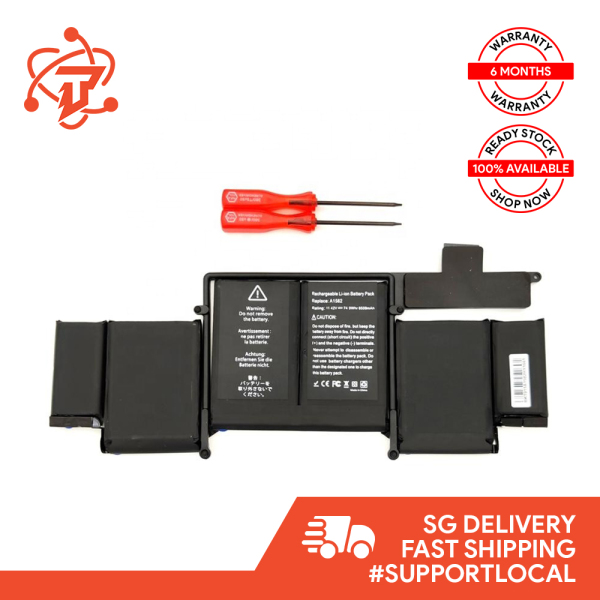 Original Battery for Macbook Pro Retina 13 inch A1502 Early 2015 (Battery Model: A1582)