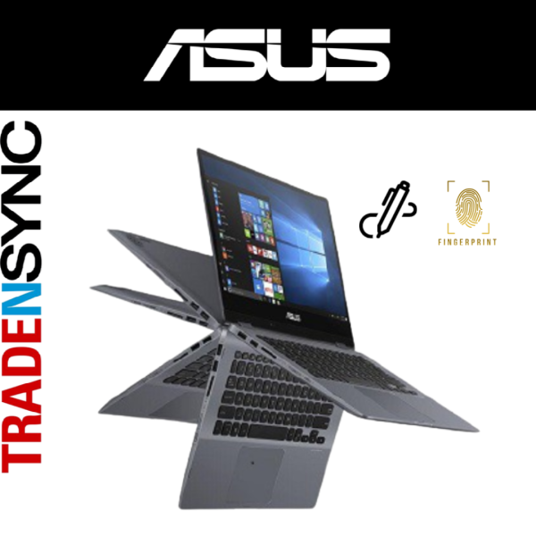 ASUS VivoBook Flip | TP412FA-EC463T | I5-10210U | 8GB RAM | 512GB SSD | 14FHD Touch Flip | W10 Home | With Touch Stylus Pen | intel UHD Graphics | 2yr warranty (Galaxy Blue)