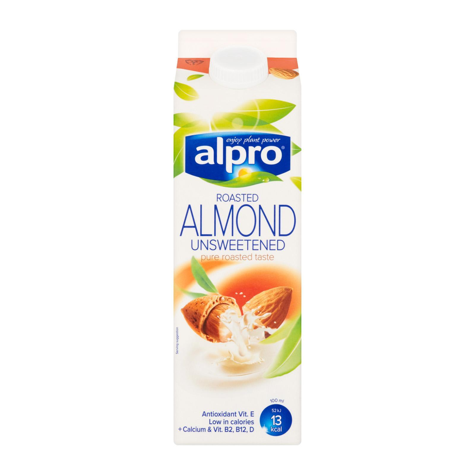 Alpro Roasted Unsweetened Almond Milk