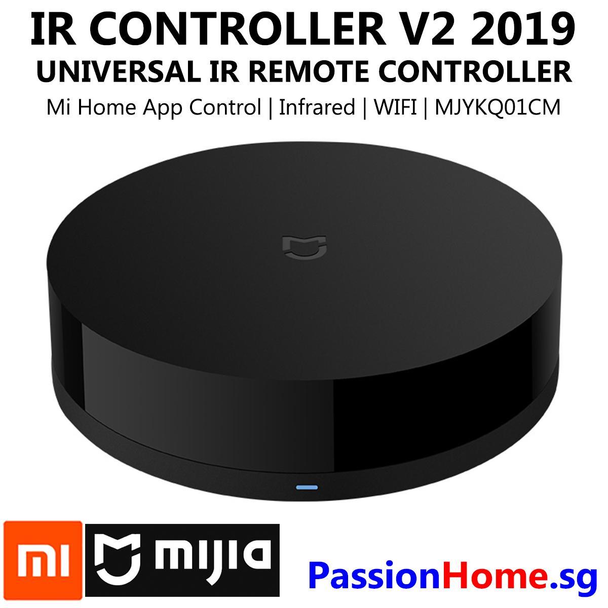 Xiaomi Mijia IR Blaster Remote Control v2 2019 (Latest model with Mijia  Logo instead of Mi Logo) - Smart Universal IR Controller - WIFI IR Infra  red -