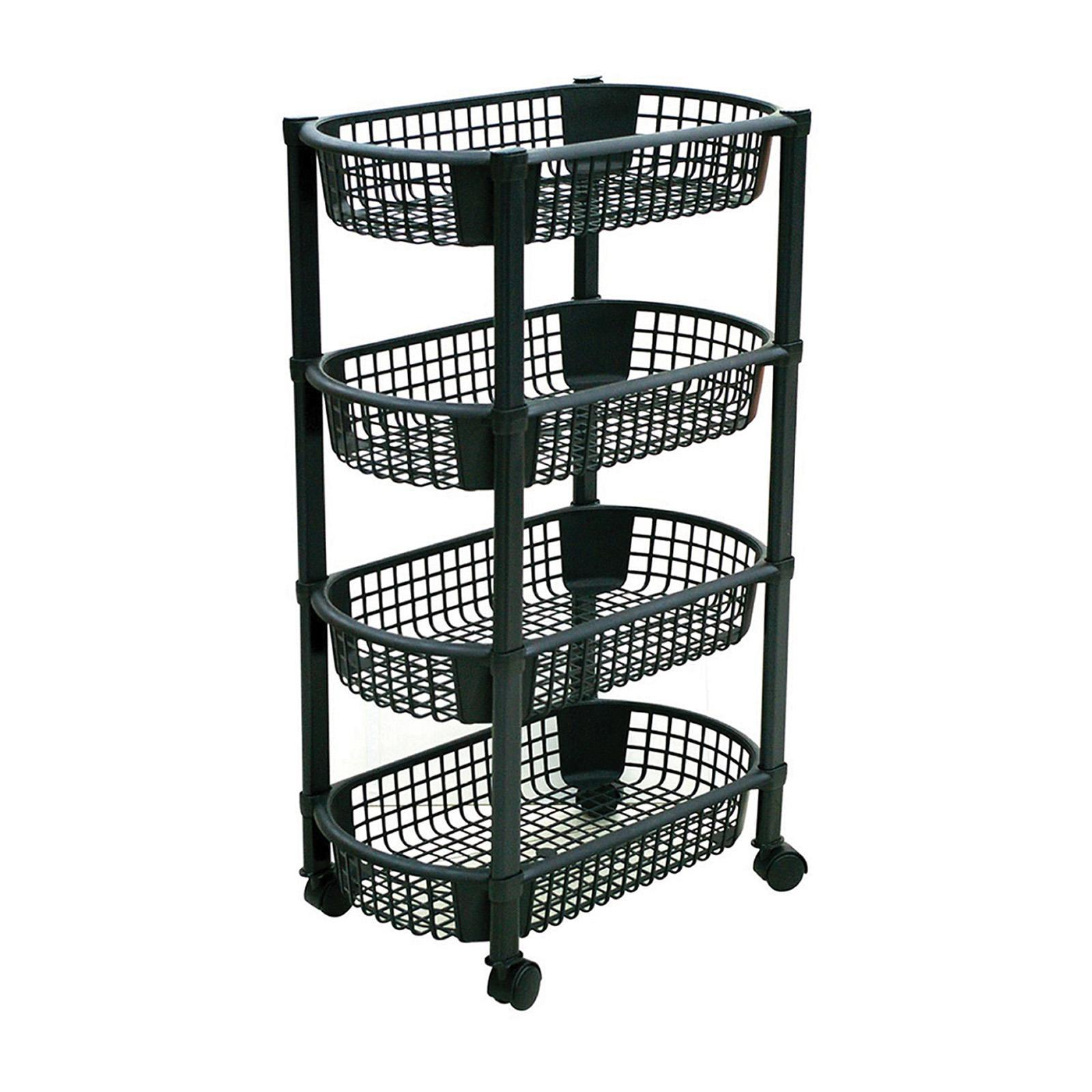 ALGO Space Wagon (Black) 4 Tier