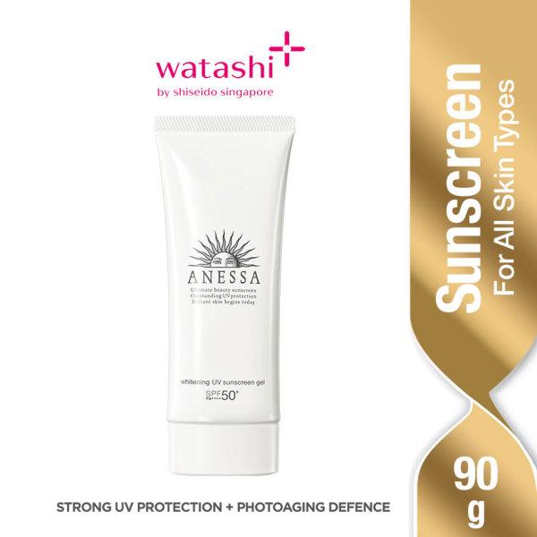 Buy Anessa Whitening UV Sunscreen Gel 90g Singapore