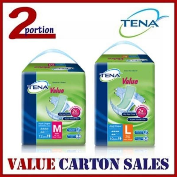 Buy TENA VALUE ADULT DIAPERS CARTON SALES Singapore