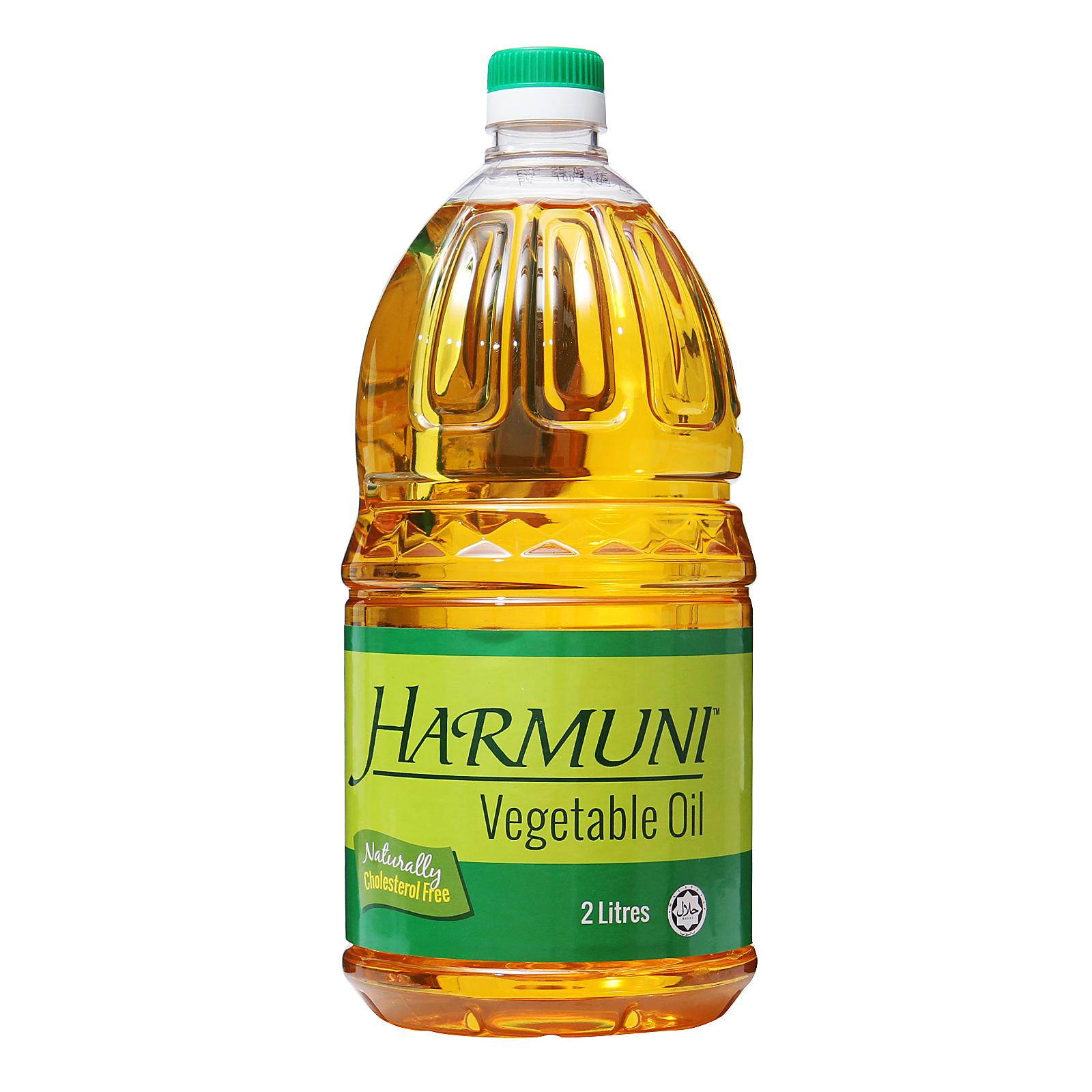 Harmuni Vegetable Oil By Redmart.