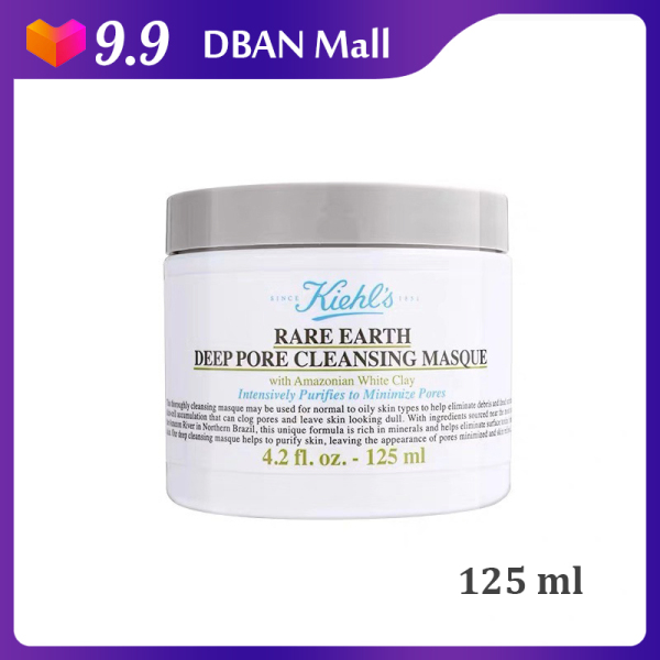 Buy Kiehls Rare Earth Deep Pore Cleansing Masque 125ml - DBAN MALL [Luxury Beauty (Skincare) – Kiehl Cleanser (Detoxify – Minimise Pore / Remove Impurities) Brand New 100% Authentic] Singapore
