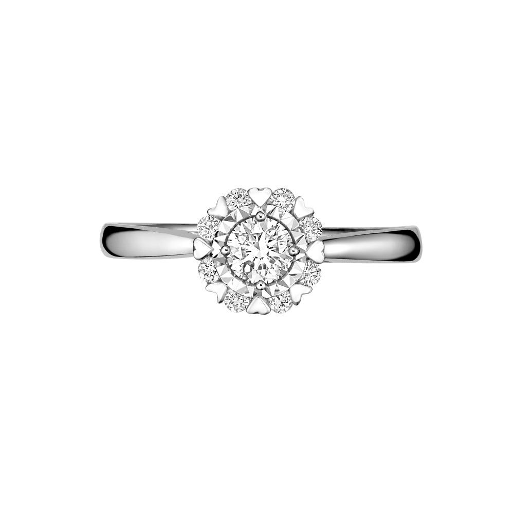 Goldheart Glitz Diamond 14k White Gold By Goldheart.