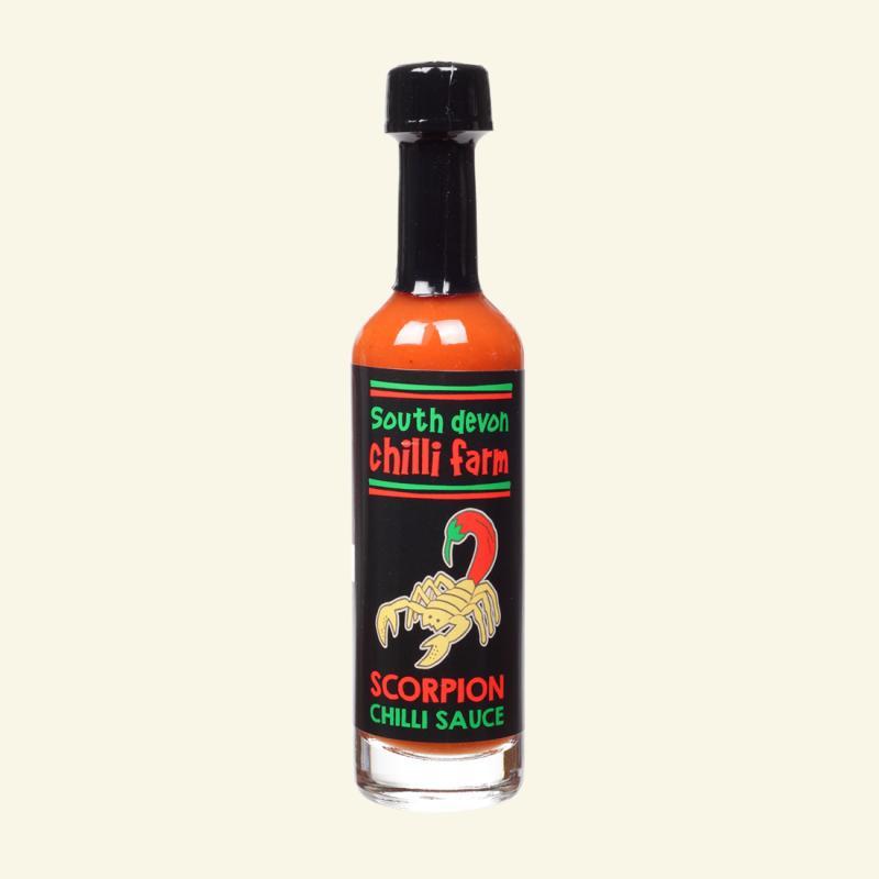 South Devon Chilli Farm - Scorpion Chilli Sauce 50ml May 2020 By Chillime.