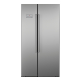 Low Price Beko Asl141S 610L Side By Side Fridge Silver