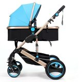 Purchase Belecoo Gold Suspension Frame German Design Stroller Blue Online