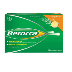 Who Sells Berocca Orange Effervescent 45 Tablets Cheap