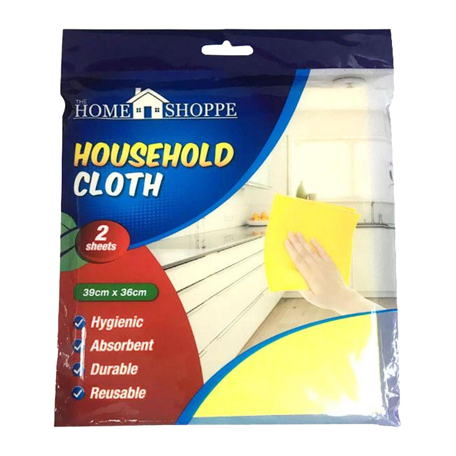 Household Cleaning Cloth Value Pack 2S X 2