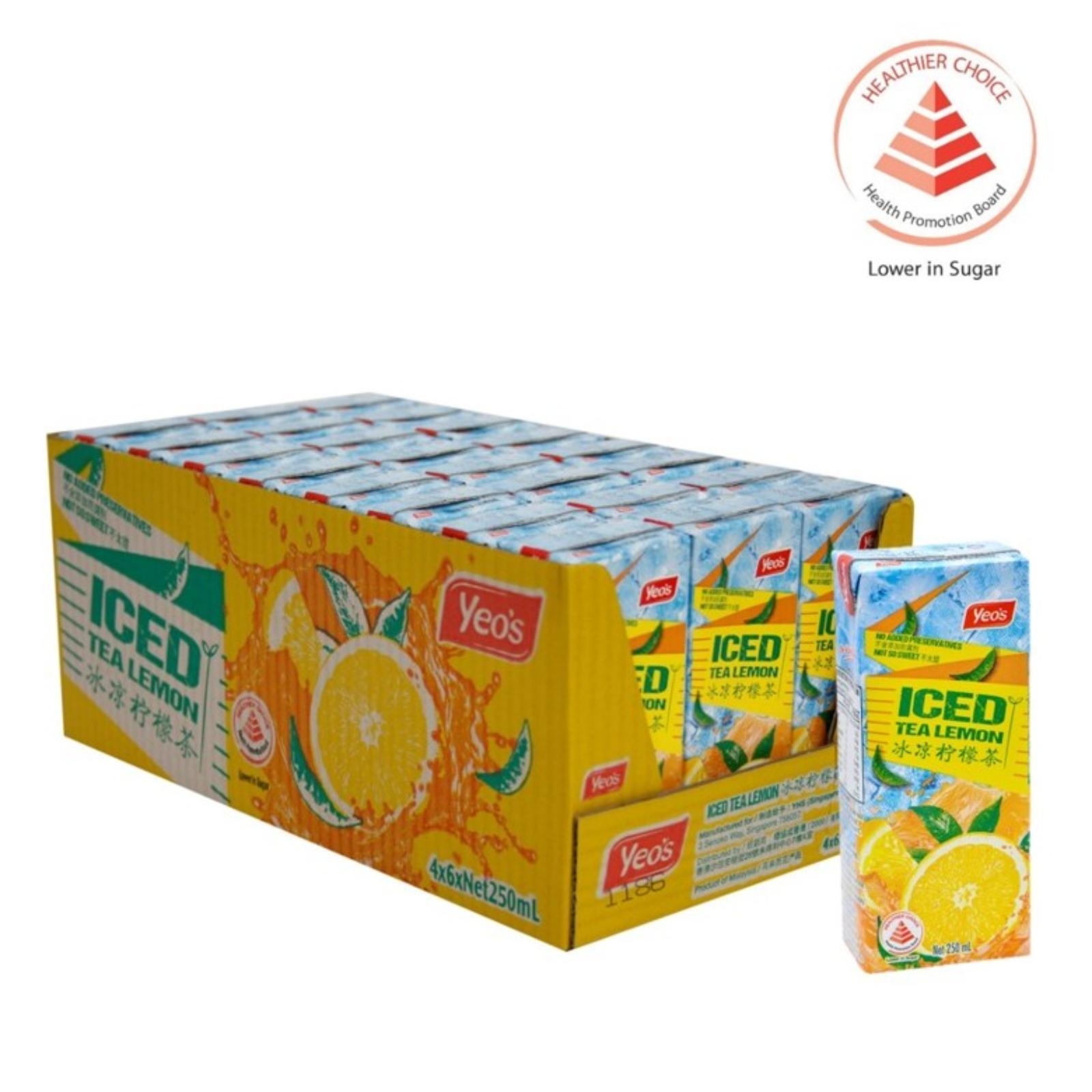 Yeo's Ice Lemon Tea - Case