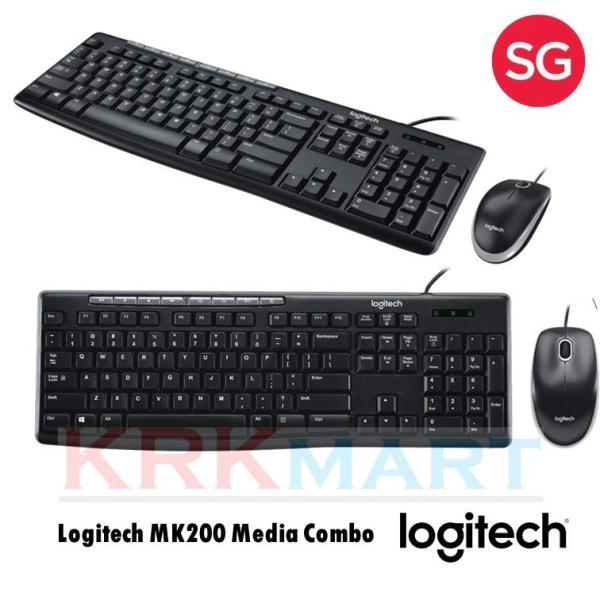 Logitech MK200 Media Combo Singapore