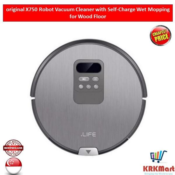 iLife X750 Robot Vacuum Cleaner with Self-Charge Wet Mopping for Wood Floor Singapore