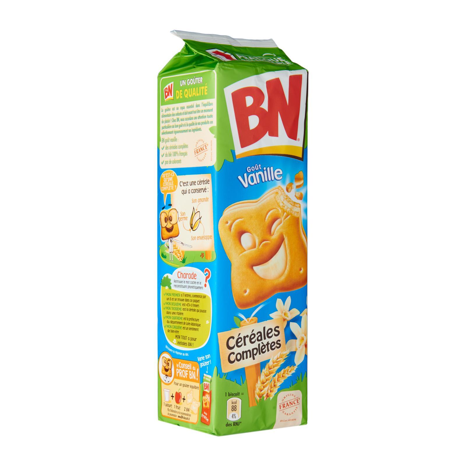 BN Vanilla Flavour Sandwich Biscuits
