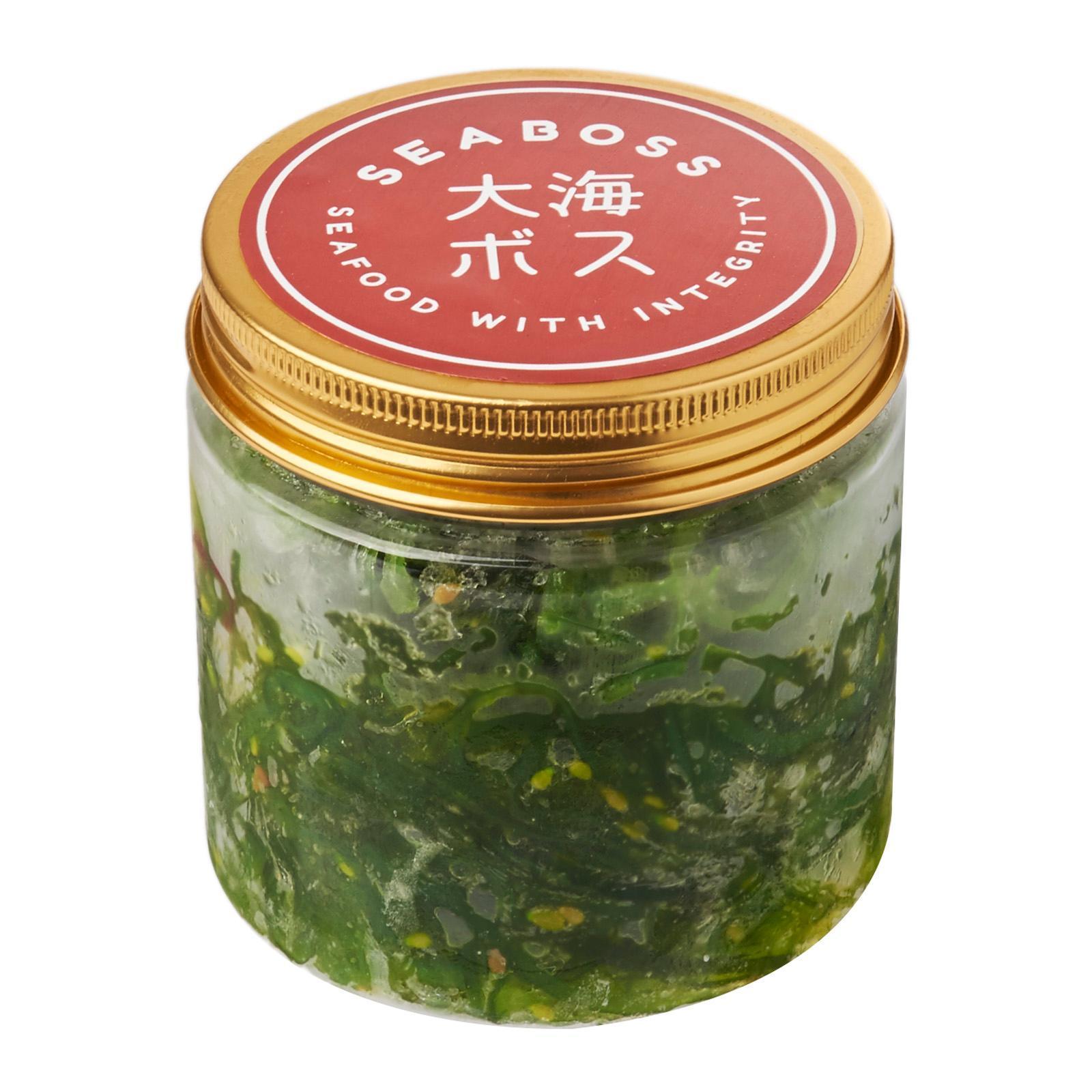 SEABOSS Chuka Wakame (Seasoned Sesame Seaweed Salad) - Frozen