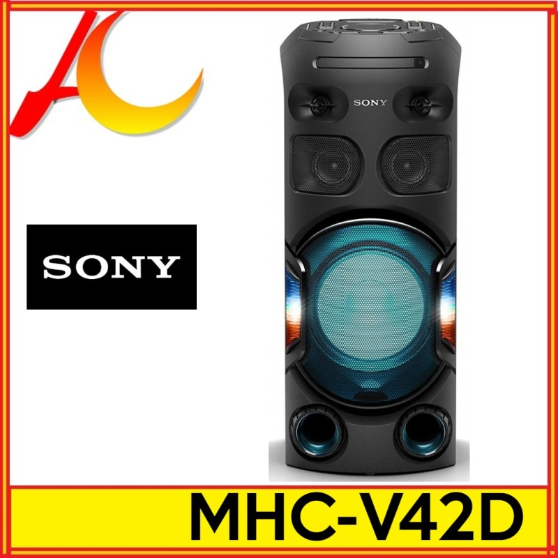 SONY MHC-V42D High Power Mhc-v42d Audio System LONG DISTANCE BASS SOUND BLUETOOTH Wireless Portable 1YW BY SONY (42D MHCV42D) Singapore
