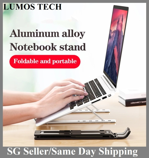 Adjustable Laptop Stand Foldable Notebook Stand Holder For Macbook HP Lapdesk Portable Aluminum Alloy Computer Cooling Bracket