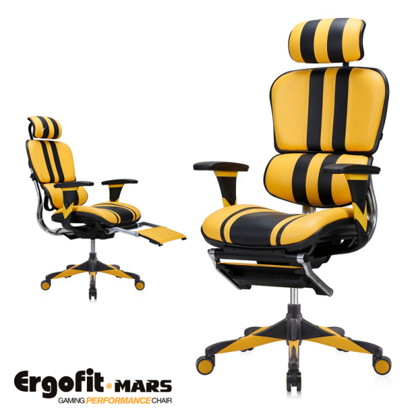(5 Years Warranty) Ergofit Mars Gaming Mircofiber Leather Gaming Chair/ Office Chair Free Installation