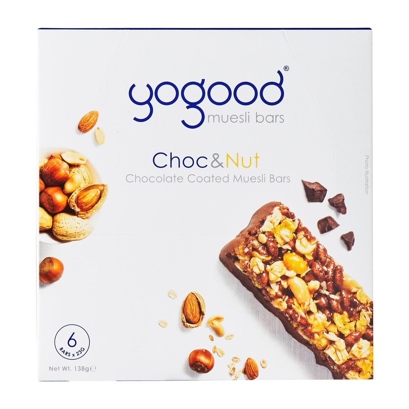 YoGood Chocolate And Nut Muesli Bar