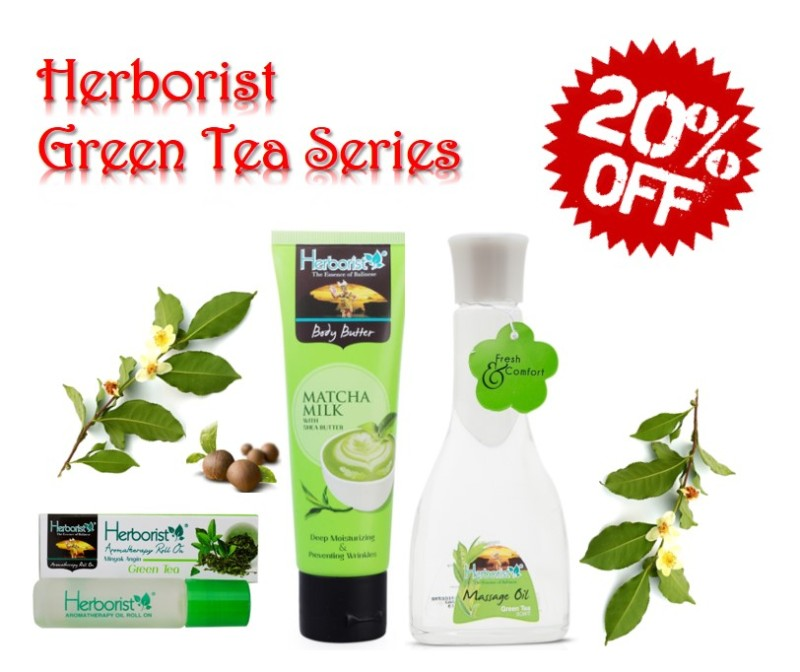 Buy Herborist Green Tea Series - SAVE 20% Singapore