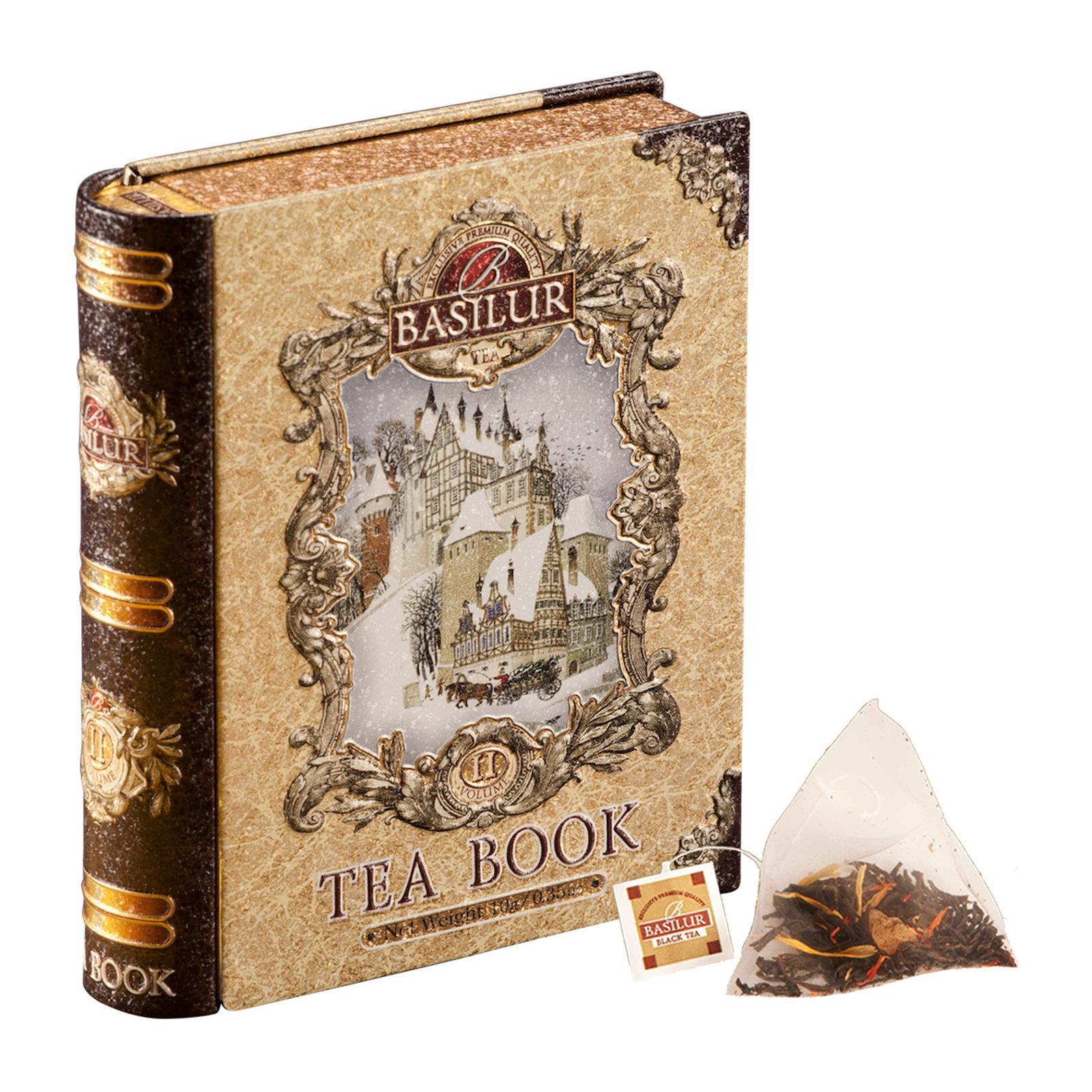 Basilur Miniature Tea Book (Christmas Spices Black Tea)