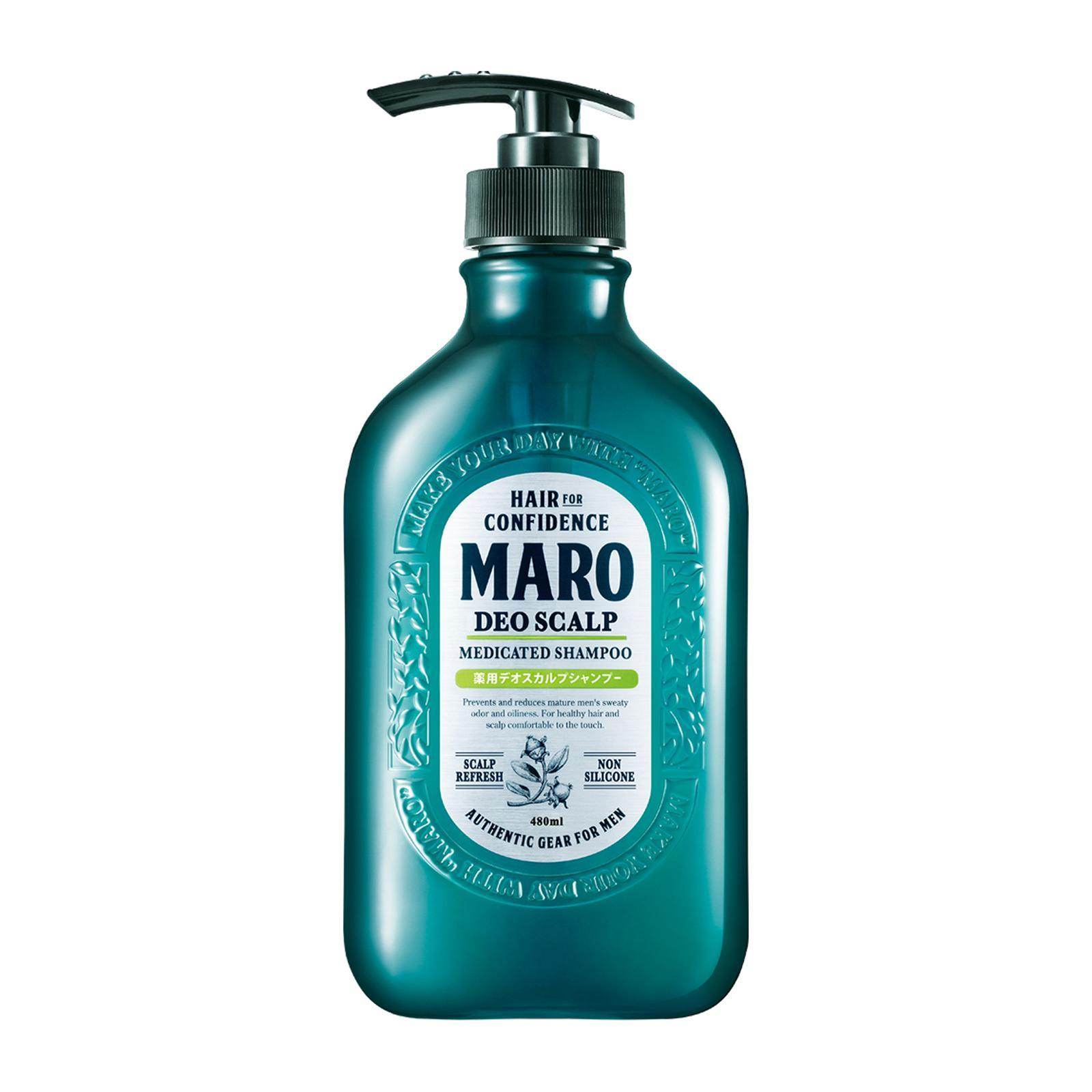 Maro Deo Scalp Shampoo Cool, 400ml