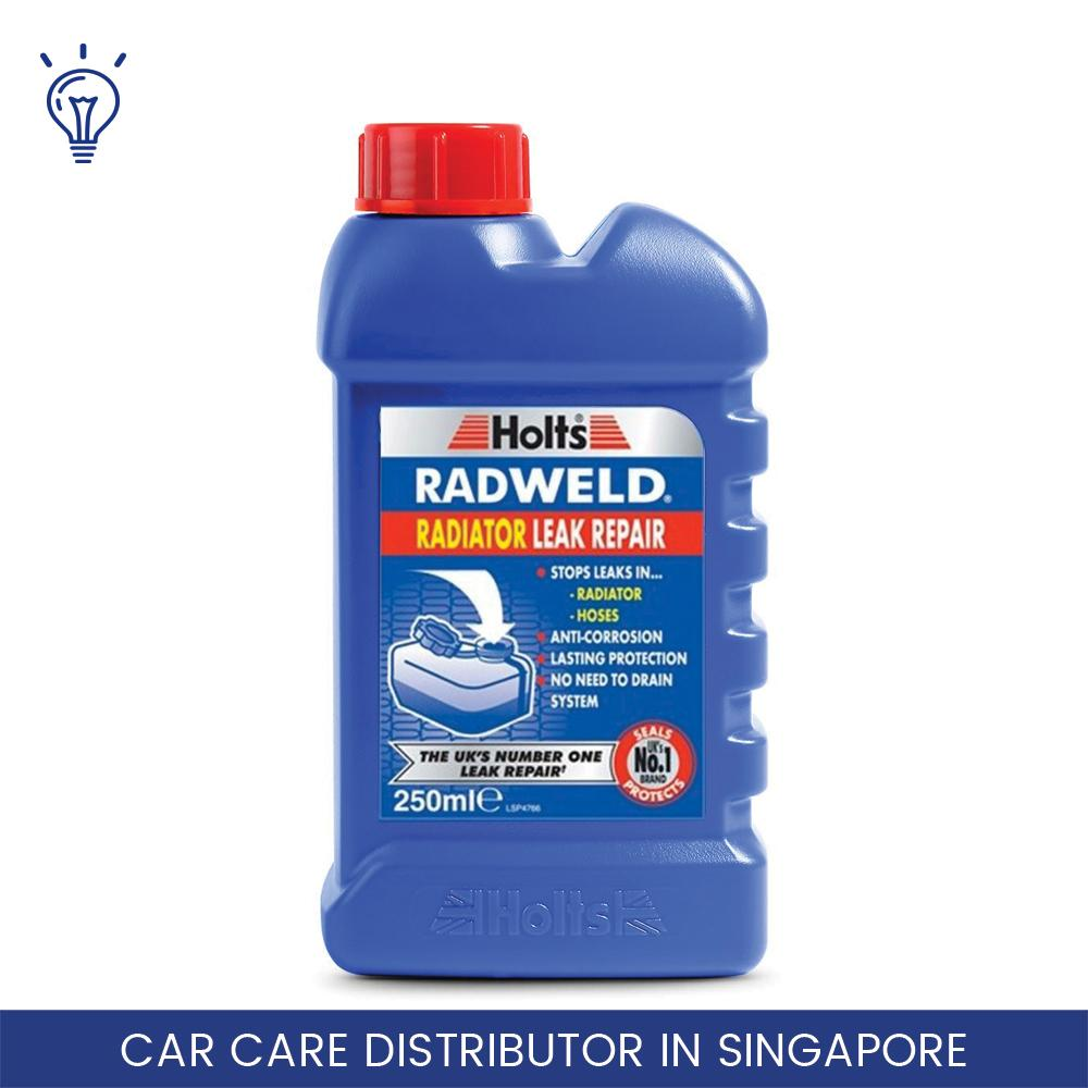 Holts Radweld 250ml / Radiator Leak Repair / Stops Leaks In Radiators & Hoses / Suitable For All Cars / Simply Pour And Fix / Prevents Future Leaks / Avoid Costly Repairs By Ideal Parts.