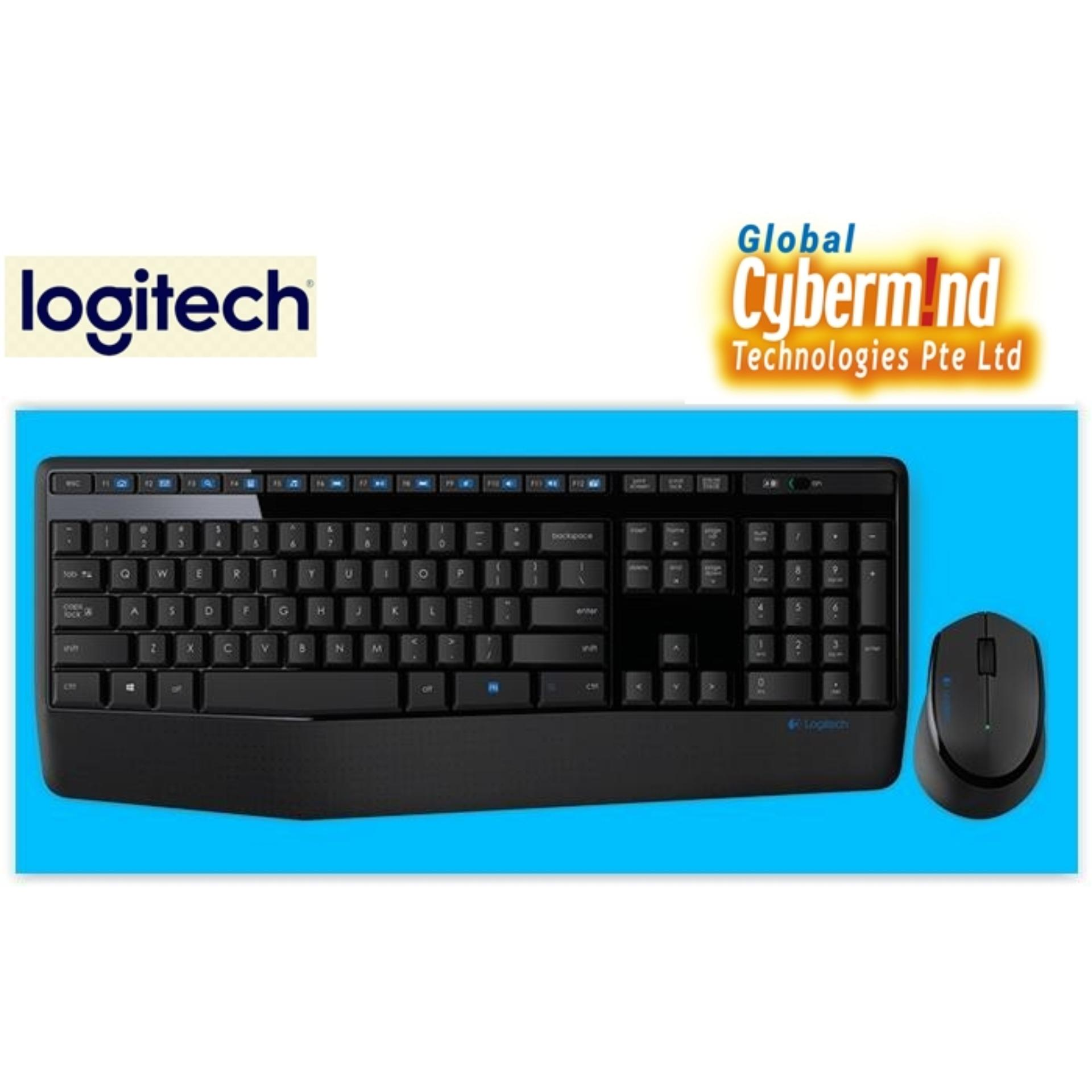 Logitech MK345 Wireless Full Size Combo (Keyboard + Mouse) (Local  Distributor's Stocks)