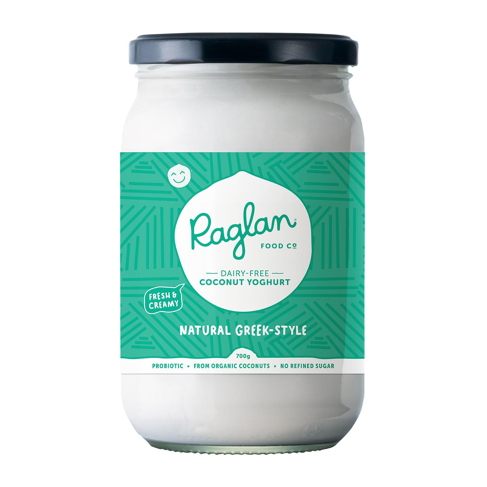 Raglan Coconut Yoghurt Natural Greek Style - 700Ml