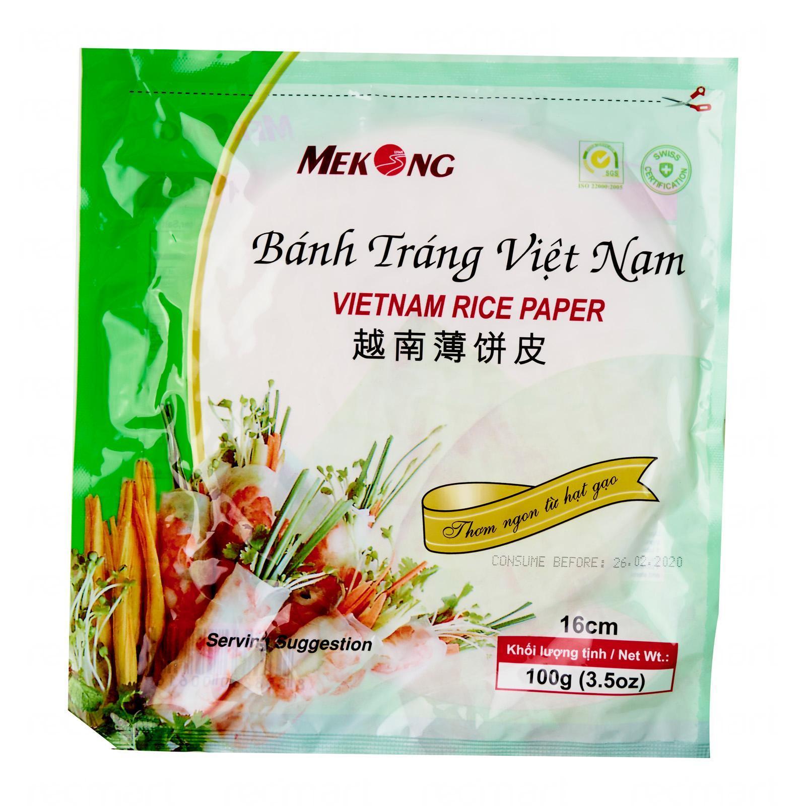 SING LONG Vietnamese Rice Paper 100g