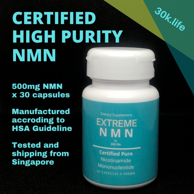 Buy EXTREME NMN Supplement Nicotinamide Mononucleotide 30 X 500mg Singapore