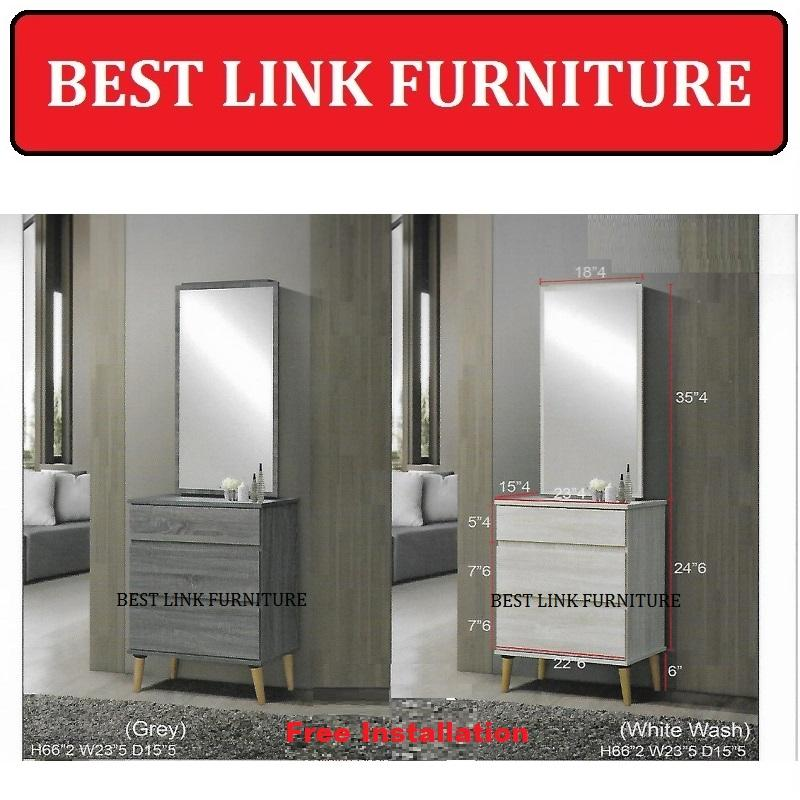 BEST LINK FURNITURE BLF Sandy Dressing Table / Dresser