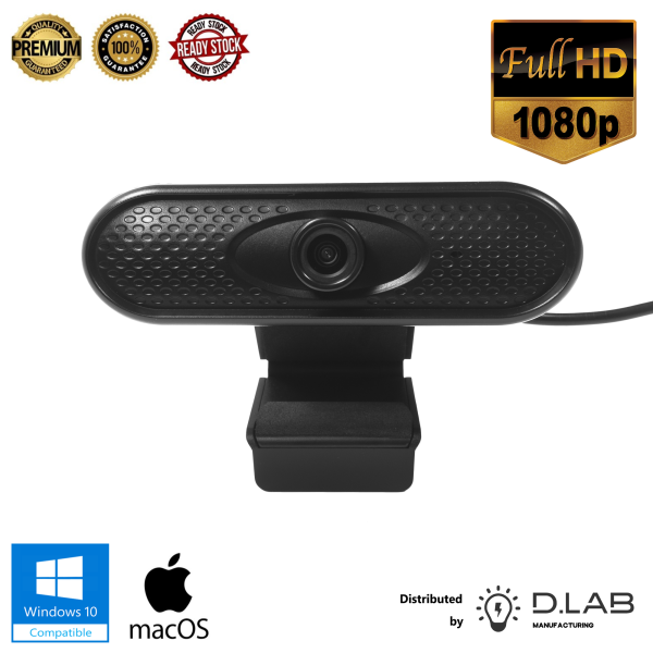 1080P High Precision HD Webcam with Microphone
