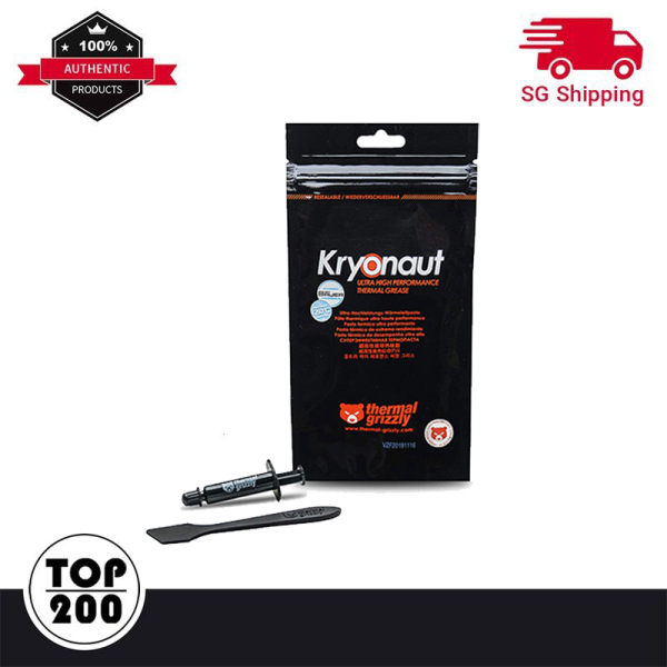 [Free 24h Delivery] [Local Stock] Thermal Grizzly Kryonaut 1G Thermal Paste Thermal Grizzly High Performance Cooling Solutions