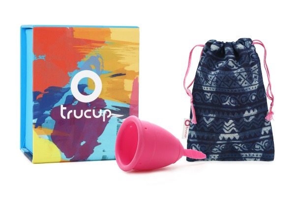 Buy TruCup Menstrual Cup Soft Pink Singapore