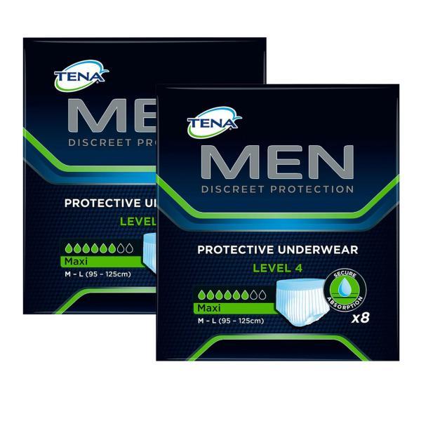 Buy Tena Men Protective Underwear Level 4 Large (8 Pack) (2pcs) Singapore