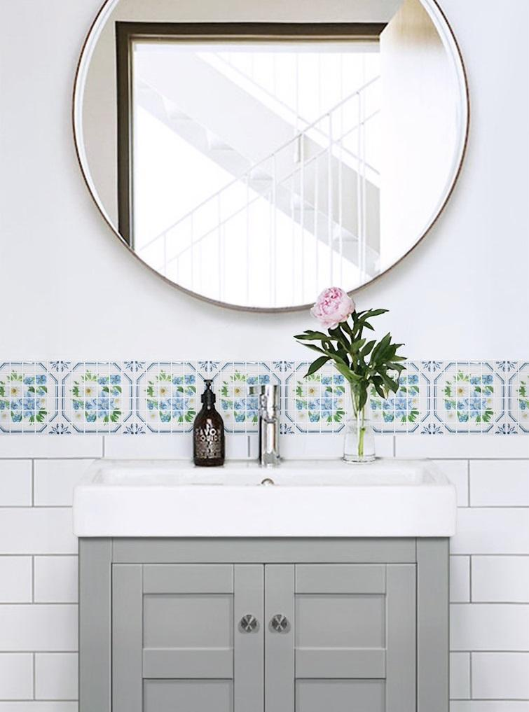 Beaus Mosaic Tile Self Adhesive Wallpaper Sticker