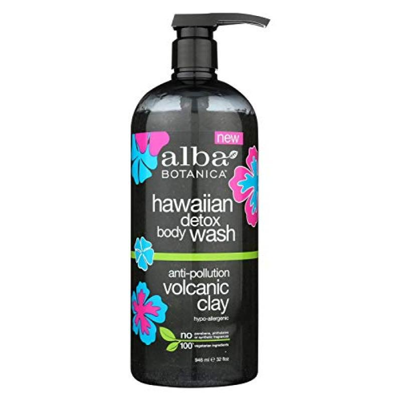 Buy (USA)ALBA BOTANICA Wash Body Hawaiian Detox, 32 Ounce Singapore