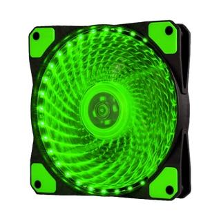 Zesc007 Quạt Làm Mát Đèn RGB Siêu Êm 12Cm 33 LED Quạt Tản Nhiệt, Cho Vỏ Máy Tính PC thumbnail