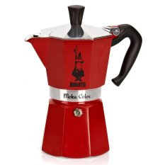 Bialetti Moka Color 6 Cups Red Shop