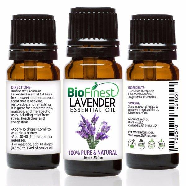 Buy Biofinest Lavender Essential Oil (100% Pure Therapeutic Grade) 10ml Singapore