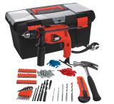 Best Deal Black And Decker Hd500Bx B1 550W Home Starter Kit 13Mm Hammer Drill