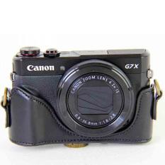 For Sale Black New Leather Case Camera Case Bag Cover For Canon G7X Mark Ii G7X Ii G7X2 Camera Cover Strap