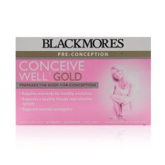 Latest Blackmores Conceive Well Gold 56 S